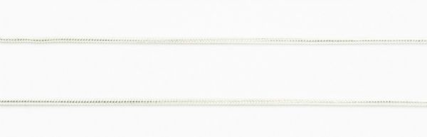 Snake chain silver 1mm